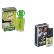 Set of 2 Jasmine-Titanic Perfume