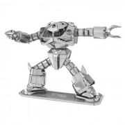DIY 3D rompecabezas modelo de juguetes educativos montado Robot - Plata