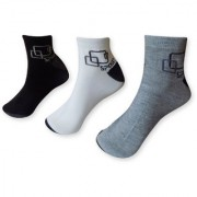 Pair of 6 Men Cotton Ankle Socks Fit Comfort Cotton Socks
