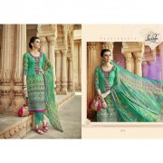 Satin Cotton embroidered Dress materials Buy Cotton embroidered Karachi suits online