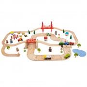 Circuit auto si feroviar