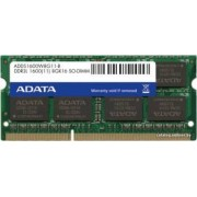 Memorie Laptop ADATA 8GB DDR3L 1600MHz CL11 Bulk