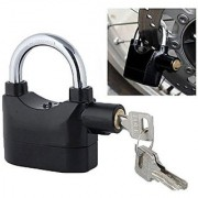 Anti Theft Burglar Alarm Padlock Electronic Alarm Lock Security Siren