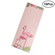 YeahiBaby 10pcs Flamingo Packaging Drawer Box Paper Socks Ties Stocking Packaging Box Organizer Gift Wrapping Boxes