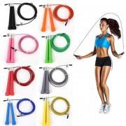 Protección Deportiva Speed Wire Saltar Ajustable Saltar De Cuerda Fitness Deporte De Ejercicio Cardio Herramienta-Azul