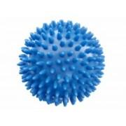 Kemény, tüskés masszírozó labda átm. 100 mm, kék