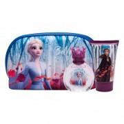 Disney Frozen II zestaw Edt 50 ml + Żel pod prysznic 100 ml + Kosmetyczka dla dzieci