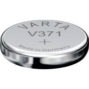 Baterie buton oxid de argint 371, 1,55 V, 44 mAh, Varta