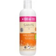 SANTE Family Glanz-Shampoo Bio-Orange & Coco - 300 ml