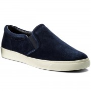 Гуменки CLARKS - Glove Puppet 261312634 Navy Suede