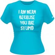 I am mean - L - Albastru - Stedman classic