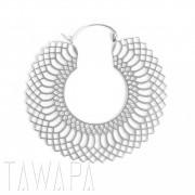 Tawapa - örhängen - ormskinn