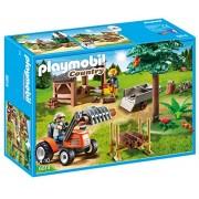 PLAYMOBIL® 6814 Lumberjack with tractor