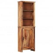 vidaXL Висок шкаф, 60x30x180 см, шишамово дърво масив