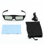 ER 3D IR Vidrios Activos Del Obturador Para BenQ W1070 W700 W710ST DLP-Link Proyectores Negro.