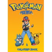Pokemon Agenda and Coloring book: Agenda and Coloring book. Great for school kids with 58 great pokemon to color. This 117 page agenda is a perfect ad, Paperback/S. J. Carney