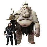 The Hobbit Goblin King with Thorin Figure Battle Pack