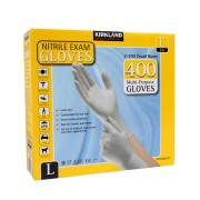 Kirkland Nitrile Gloves 400 Pack/Multi-Purpose/Latex-free/Kimberly-Clark - Large