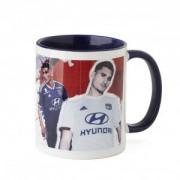 Olympique Lyonnais Mug Dedicace Aouar Message Perso 19/20 - Messsage - 1- Bonheur et réussite OL - Foot Lyon