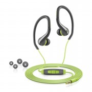 Sennheiser OCX 684i Sports Earphones Inc In-Line Remote and Mic (Apple) - Green