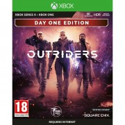 Outriders Day One Edition Xbox One Game + Bonus 4 Art Cards