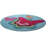 Kindervloerkleed, ESPRIT, rond, »Butterflies«, handgetuft