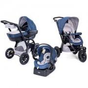 Бебешка комбинирана количка Trio Activ 3 - Blue Passion, Chicco, 2522095