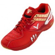 Victor Badminton Shoes For Men(Red)