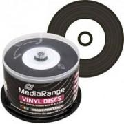 CD-R MediaRange Dye 80min./700mb. 52X (Vinyl Printable) - 50 бр. в шпиндел