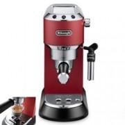 Кафемашина Delonghi EC 685.R, 1300W, 15 bar, Self-priming системата, Регулируема капучино система, Мобилен воден резервоар, червена