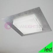 Braga Illuminazione Candy Maxi Plafoniera Led Moderna L. 70 Design