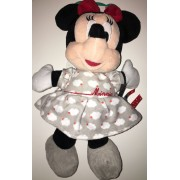Doudou Sours Minnie Mouse Rose Grise Nuages Blancs Disney Baby Nicotoy Simba Toys Benelux Jouet Eveil Bebe Plush Comforter