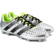 Adidas ACE 16.3 FG Men Football Shoes(Silver)