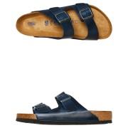 Birkenstock Arizona Oiled Leather Sandal Blue