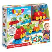 Clemmy Plus La Estación del Tren Construcciones - Clementoni