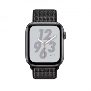 Apple Watch Nike+ Series 4 GPS - 40mm Space Grey Aluminium Case with Black Nike Sport Loop - MU7G2
