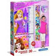 Puzzle Clementoni 30 de piese Mă măsoră - Prințesa Disney GXP-683613