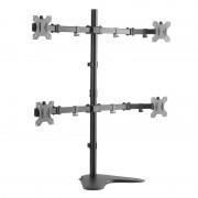 Logilink BP0046 Sit-stand workstation monitor desk mount, tilt -15/+15, swivel -90/+90, level adjustment