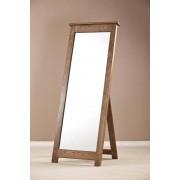 Devonshire Rustic Oak Cheval Mirror