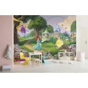 Fototapet copii Printesele Disney in gradina 368 x 254 cm
