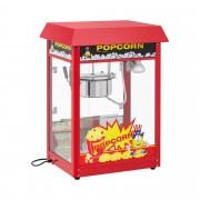 Machine à popcorn - Cycle de préparation de 120 s - Toit rouge