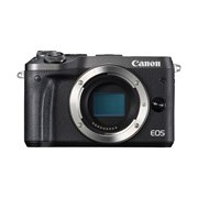 Canon EOS M6 24.2 Megapixel Mirrorless Camera Body Only - Black