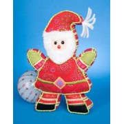 "Father Christmas Santa 9"" By Douglas Cuddle Toys"