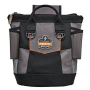 Ergodyne Arsenal 5517 Premium Bolsa para herramientas con cierre, talla única, color negro