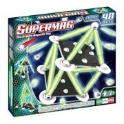 Supermag Classic Glow - Set constructie 48 piese