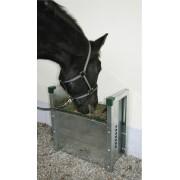 Slowfeeder hooi automaat voor paarden