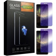 Adoniss Anti Blue Mobile Tempered Glass Protector (Pack of 2) for Nokia 7 Plus