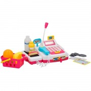 Merkloos Speelgoed kassa met licht en geluid voor jongens/meisjes