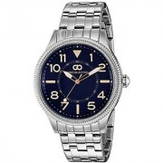 Gio Collection Analog Blue Dial Mens Watch - G1005-77
