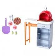 Set accesorii pentru pizza Barbie